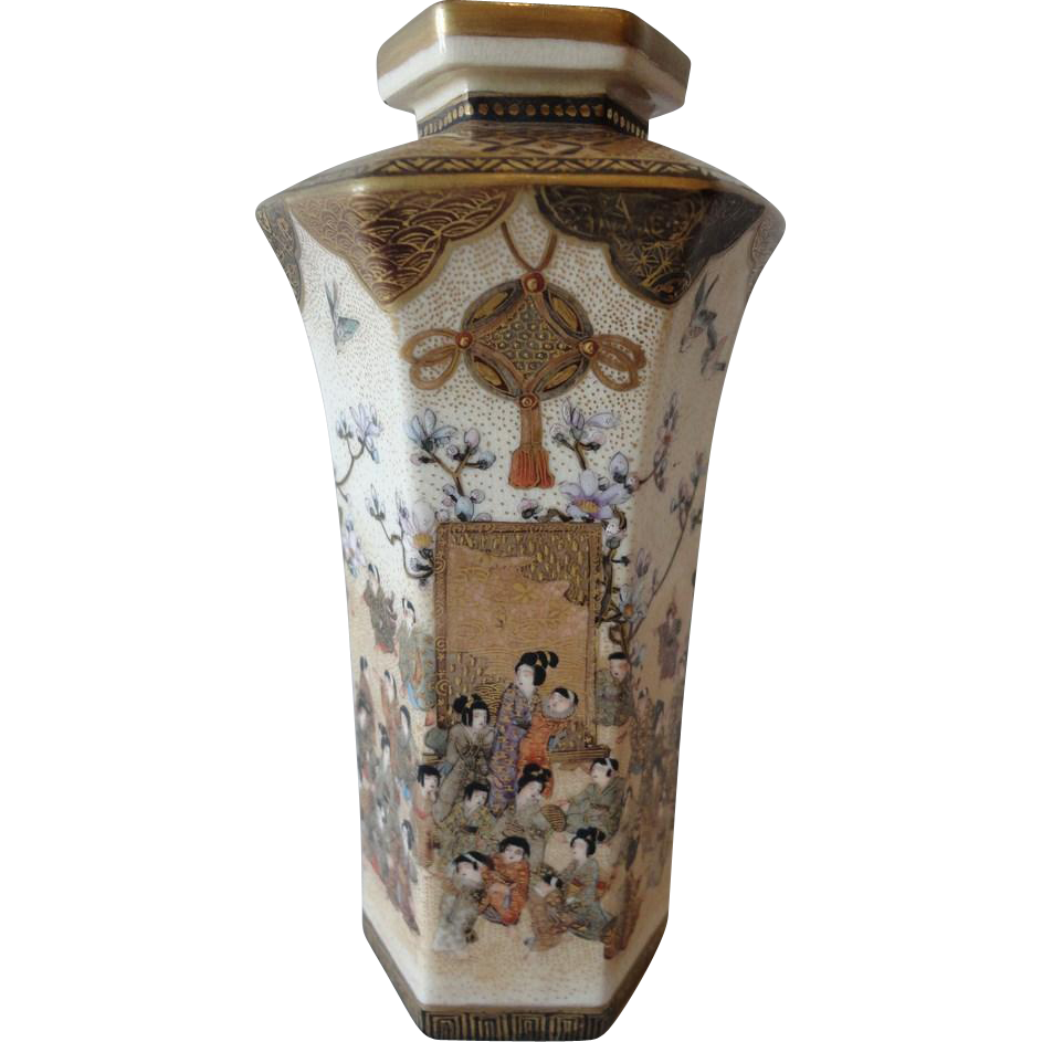 Japanese meiji period satsuma vase from marple antiques japanese meiji period satsuma vase from marple antiques collectables on ruby lane a quality reviewsmspy