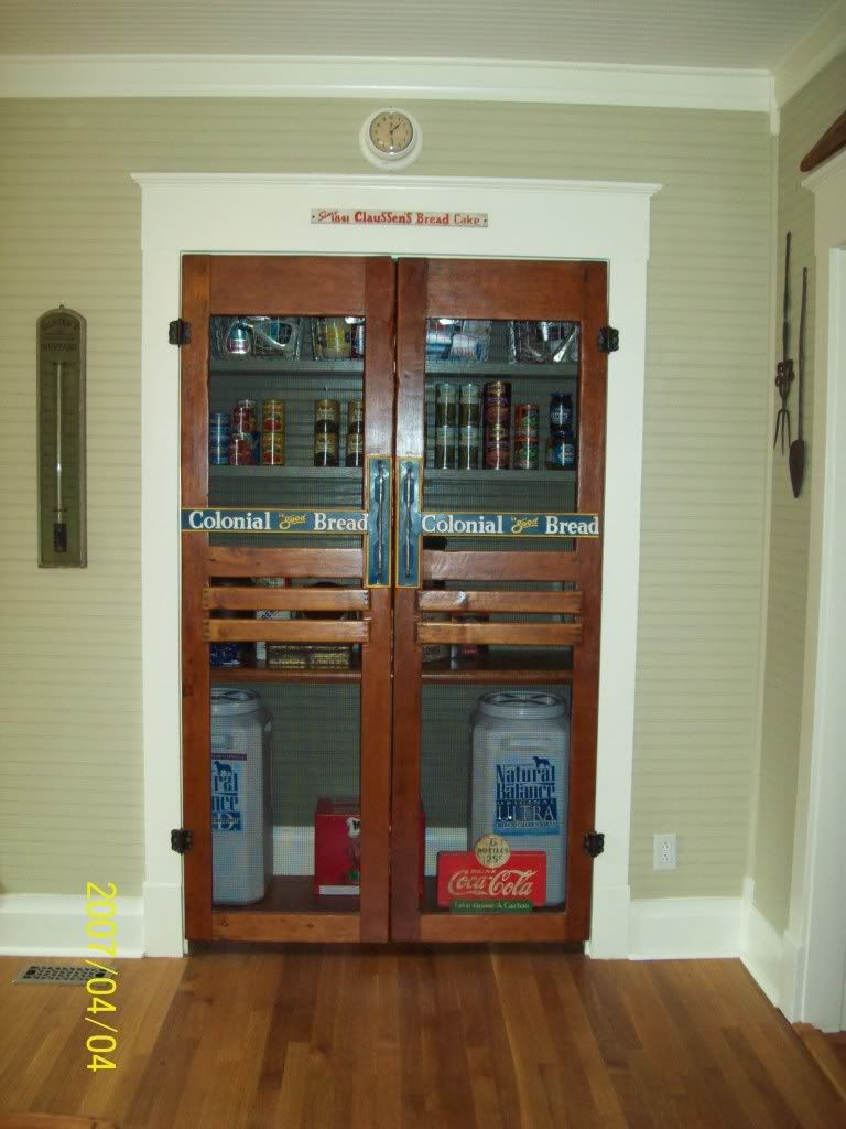 Screen Door For Double Doors | RE: What Do You Think Of A Swinging Door  Into A Pantry/?