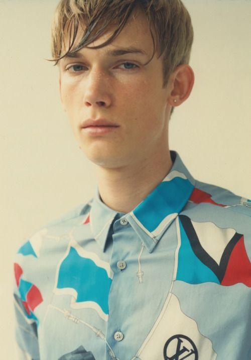 The Trotteur Blonde Male Models Esquire Mens Fashion Trends