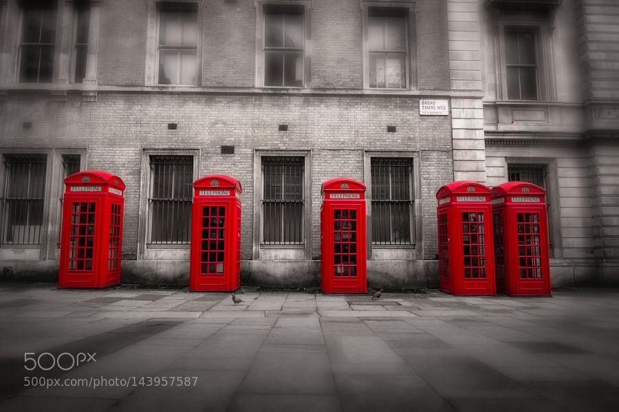 London's icons by MarkHigham. @go4fotos