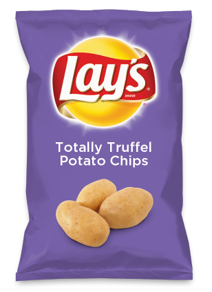 Wouldn't Totally Truffel Potato Chips be yummy as a chip? Lay's Do Us A Flavor is back, and the search is on for the yummiest flavor idea. Create a flavor, choose a chip and you could win $1 million! https://www.dousaflavor.com See Rules.