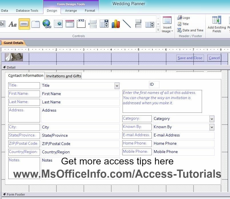 How To Add A Command Button To An Access Form   Microsoft Access ...