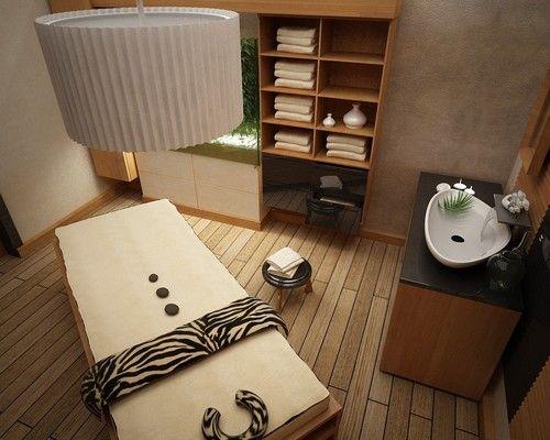 Massageraum design  by Amro   studio B   Pinterest