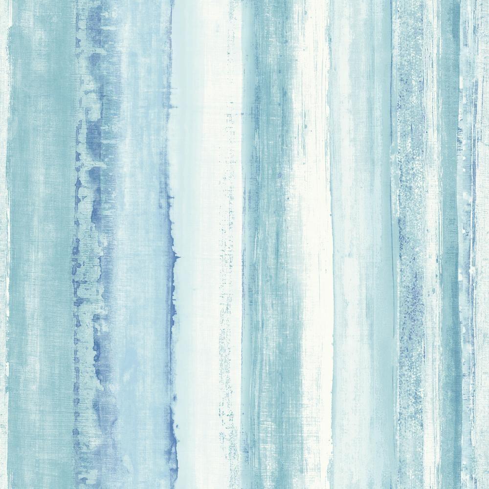 Watercolor Peel And Stick Wallpaper Peel And Stick Wallpaper Striped Wallpaper Blue Watercolor
