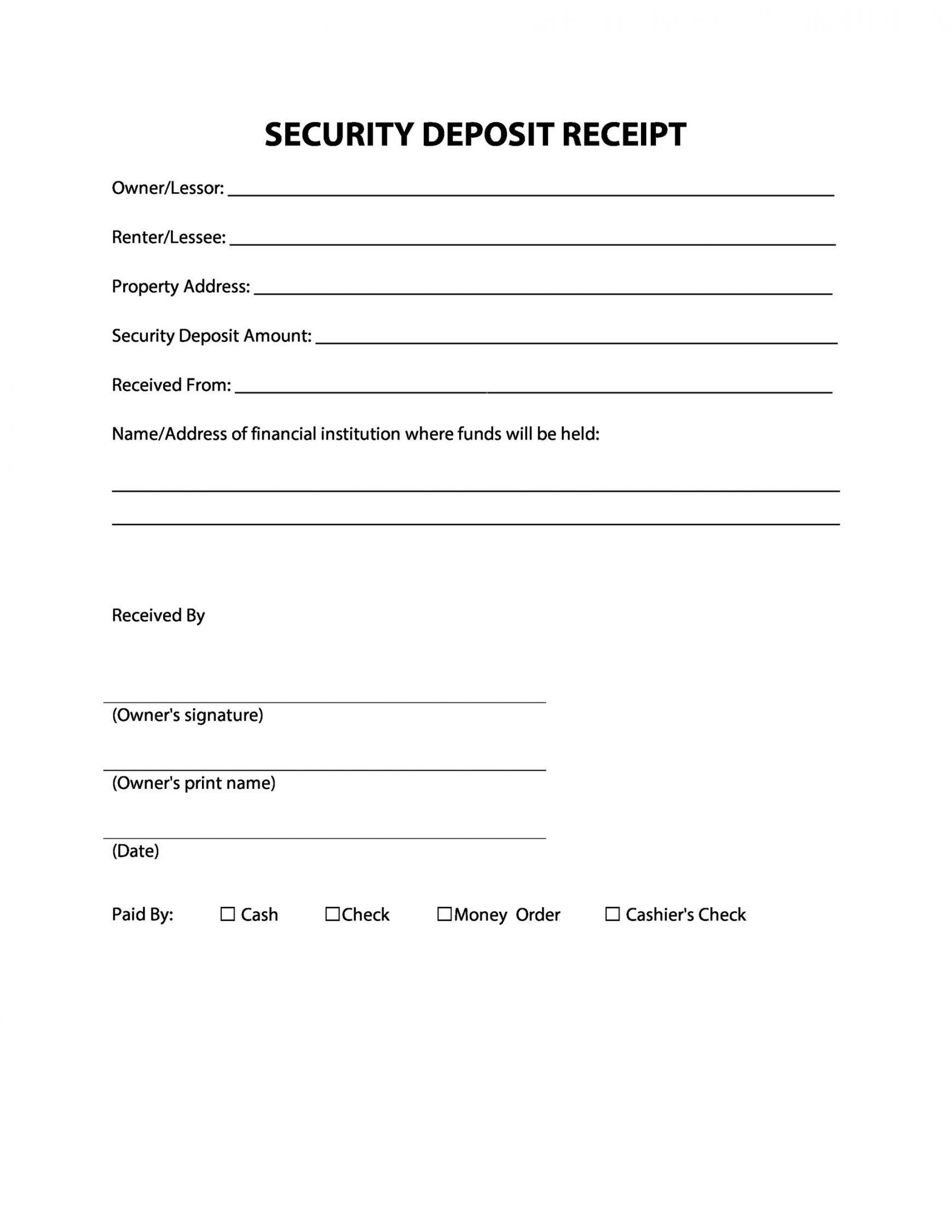 Get Our Printable Cash Deposit Receipt Template Receipt Template Receipt Templates