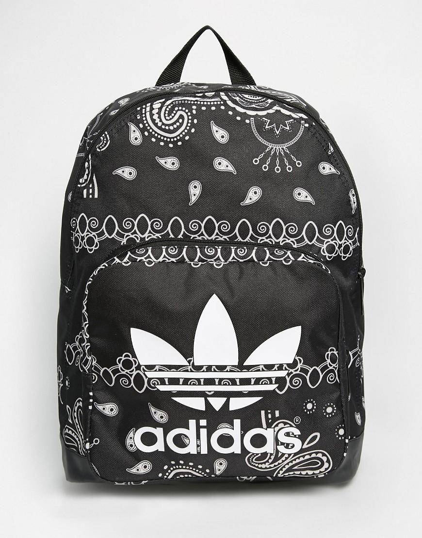 f6b1a1f5c0cfc4 adidas Originals Paisley Print Backpack | Beauty | Adidas backpack ...