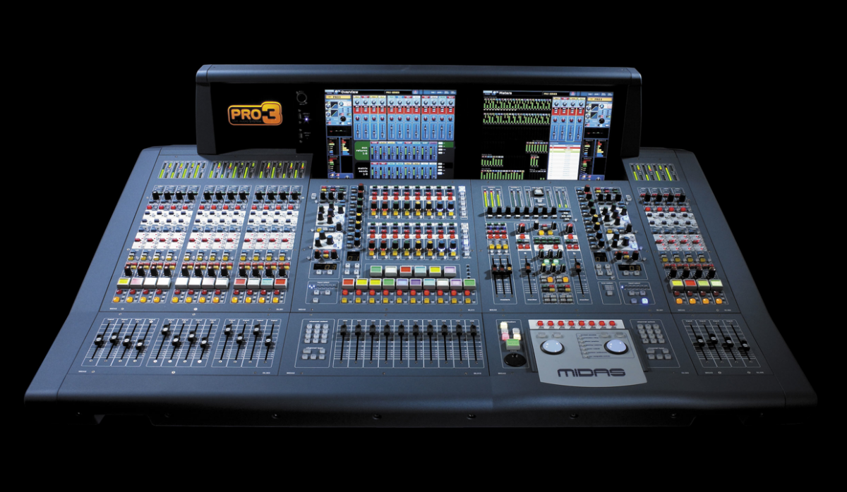 digital mixer boards products brands midas pro3 digital mixing console audio production. Black Bedroom Furniture Sets. Home Design Ideas