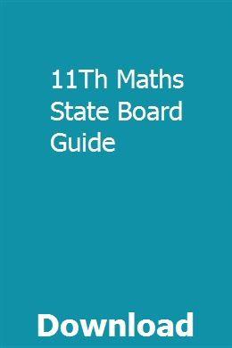 11th state board maths book pdf