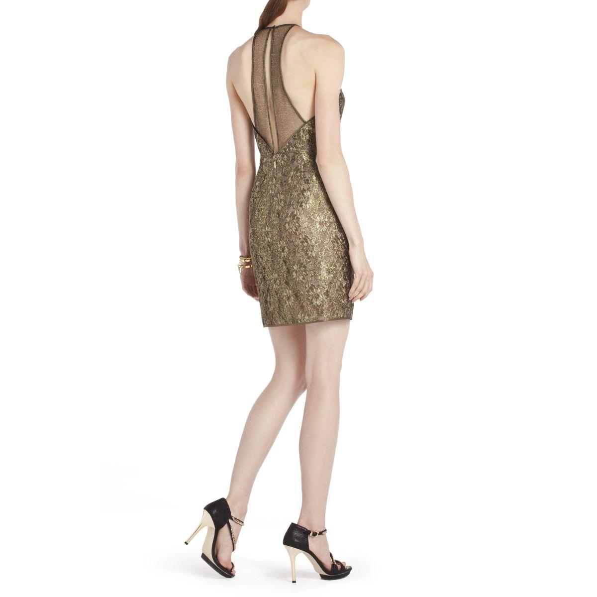 Bcbg Max Azria Tenya Lace Tail Dress