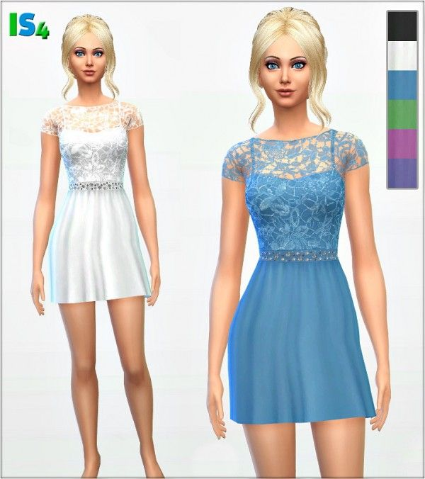 Irida Sims 4 Dress 38 IS4 • Sims 4 Downloads Sims 4