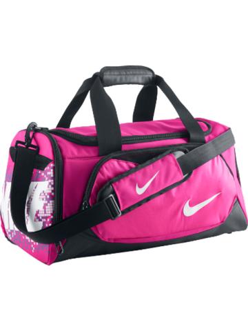 Nike Team Training Duffel Small Hibbett4pink