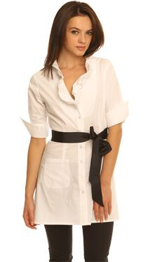 Short Sleeve Holly Tunic - Women's apparel collection - Kate Boggiano.com