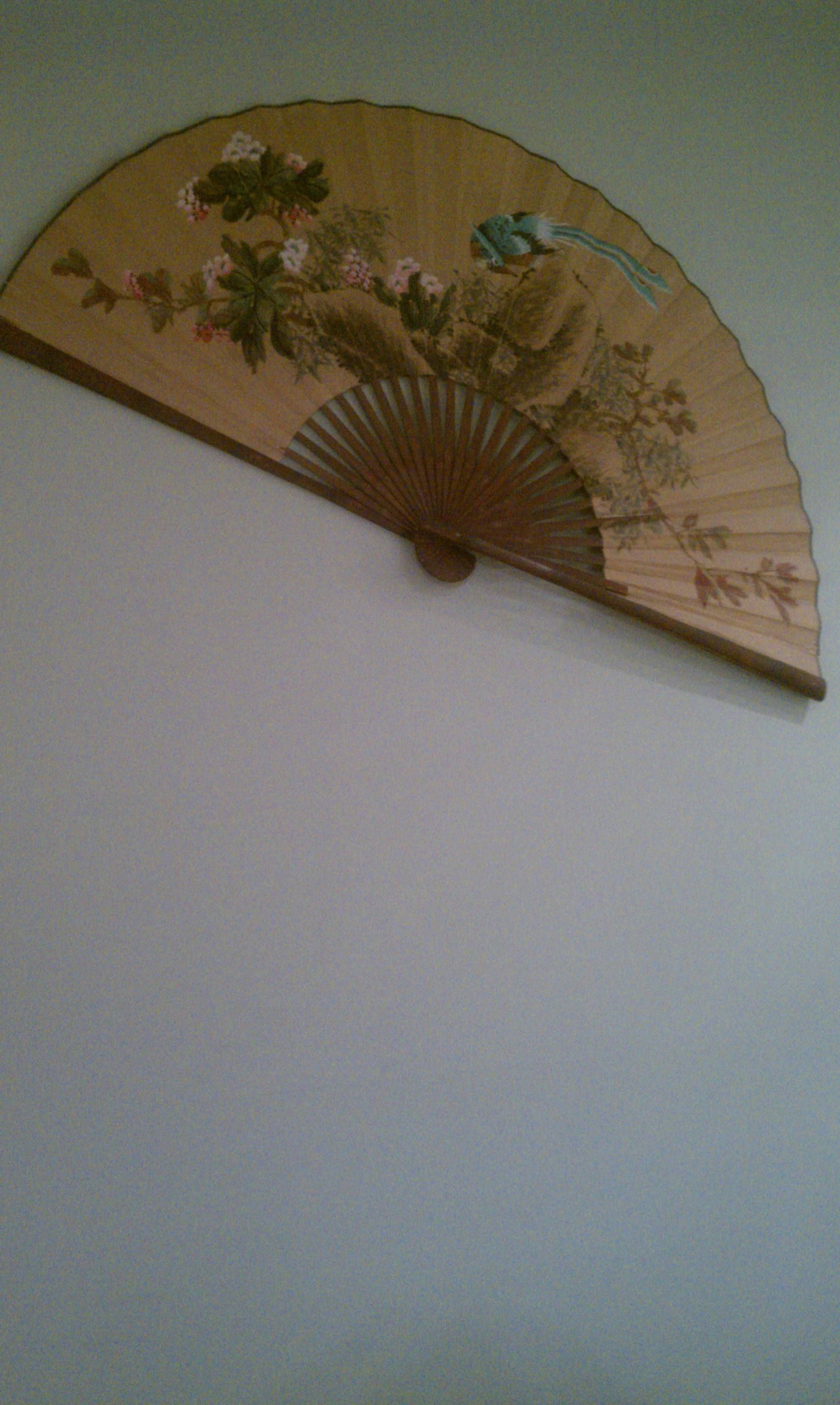 Giant Chinese Fans Make Great Wall Art Japanese Fan Japanese Art Chinese Fans