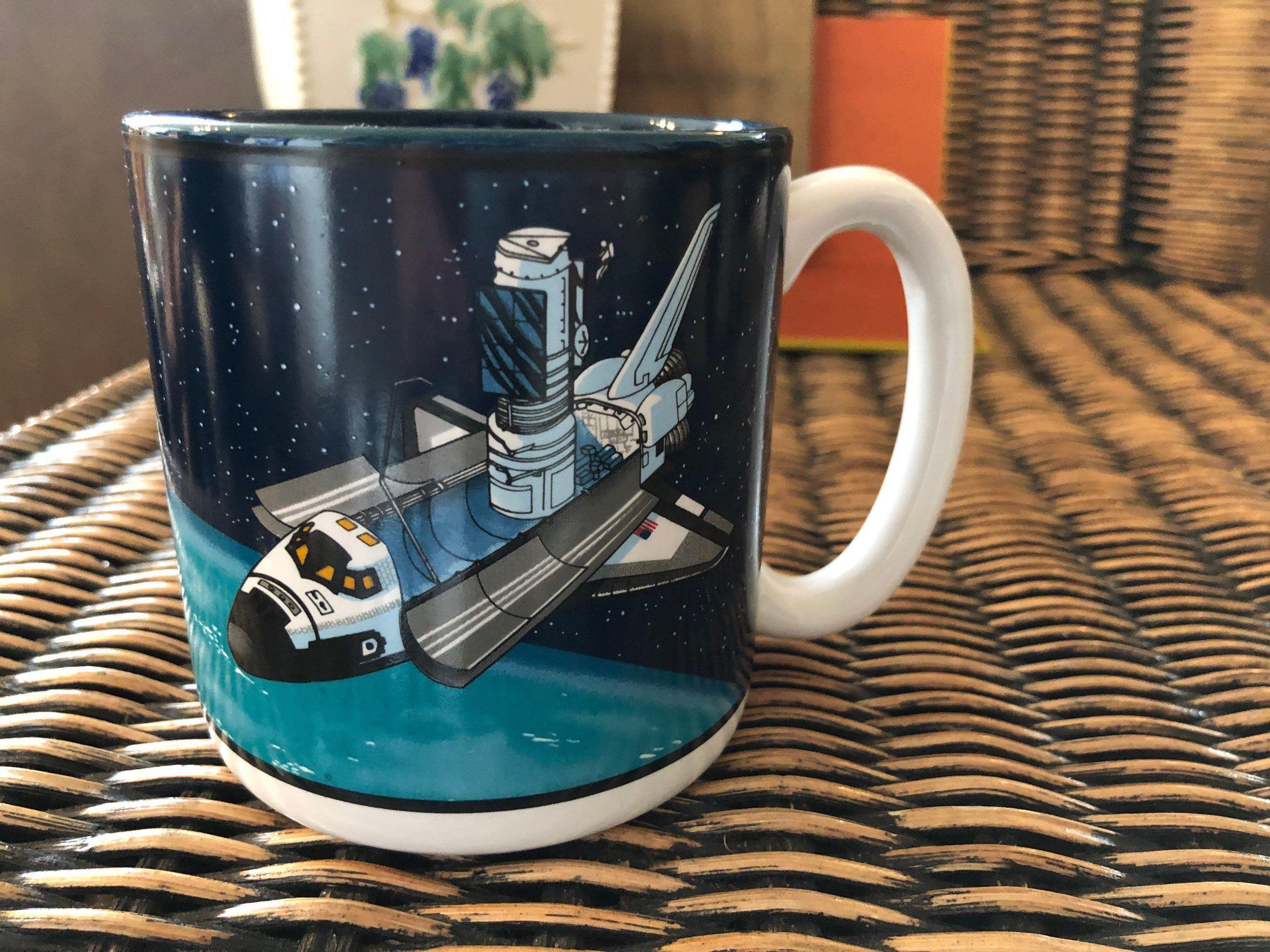 Etsy Shop Vintage Outerspace Shuttle Spaceshuttle