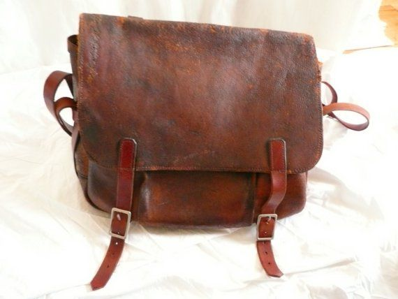 1964 Vintage Leather US Mail Bag