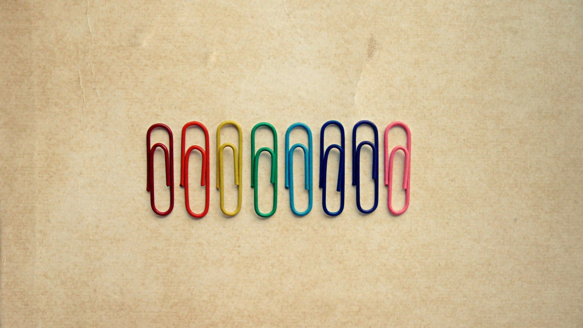 Find out colorful paper clips wallpaper on http for Minimalist writing