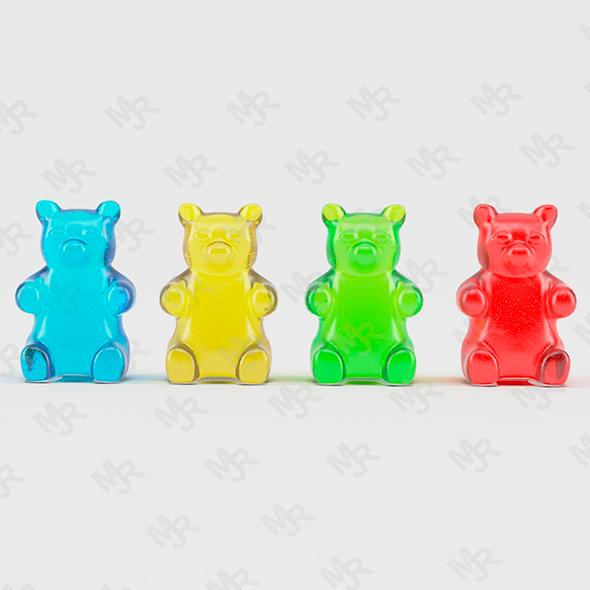 Gummy Bears Animated Web Design Website Design Design