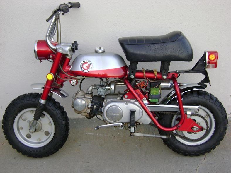 Pin By Marinus Coetzee On Monkey Bike Mini Bike Honda Bikes Honda Motorcycles