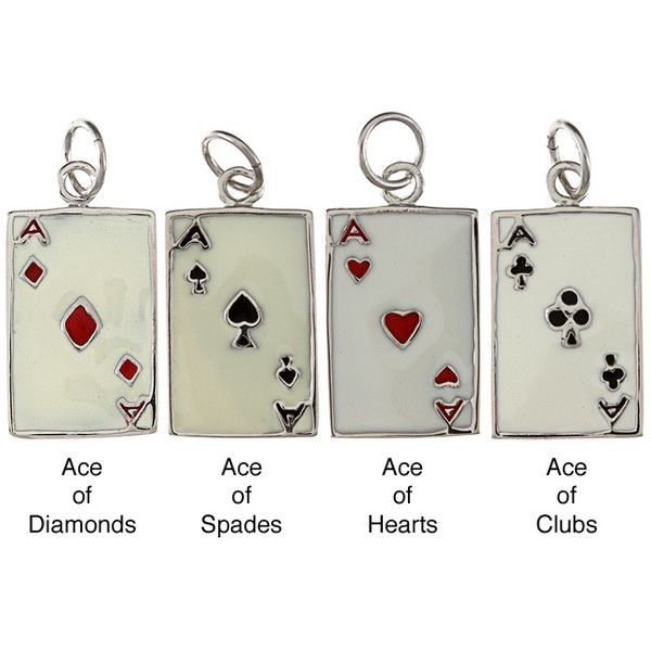 La Preciosa Sterling Silver Enamel Ace Playing Card Charm and other apparel, accessories and trends. Browse and shop 3 related looks.
