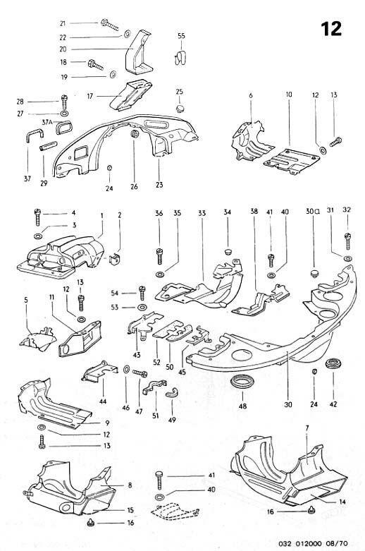 vw bus engine parts