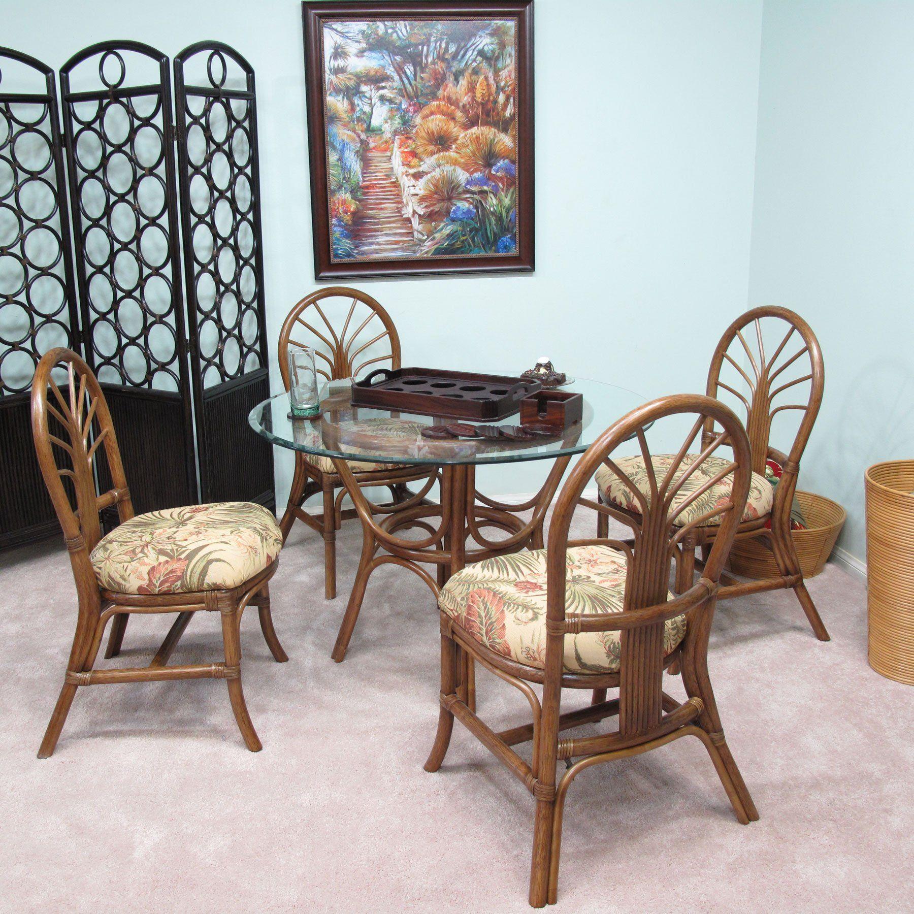 Premium Rattan Dining Furniture Sundance 5pc Set Panama Tropic