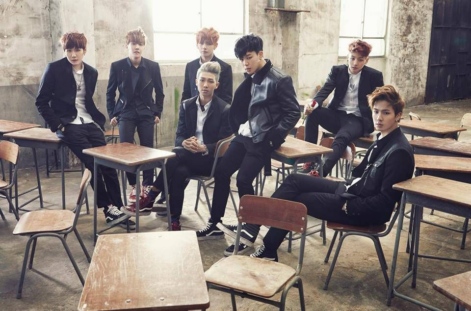 BTS (Bangtan Boys) release concept photos for comeback with 'Skool Luv Affair' | allkpop