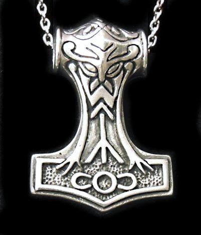 Martelo de Thor - Martelos de Thor - Thors Hammer. Pingentes e colares Wiccaworkshop