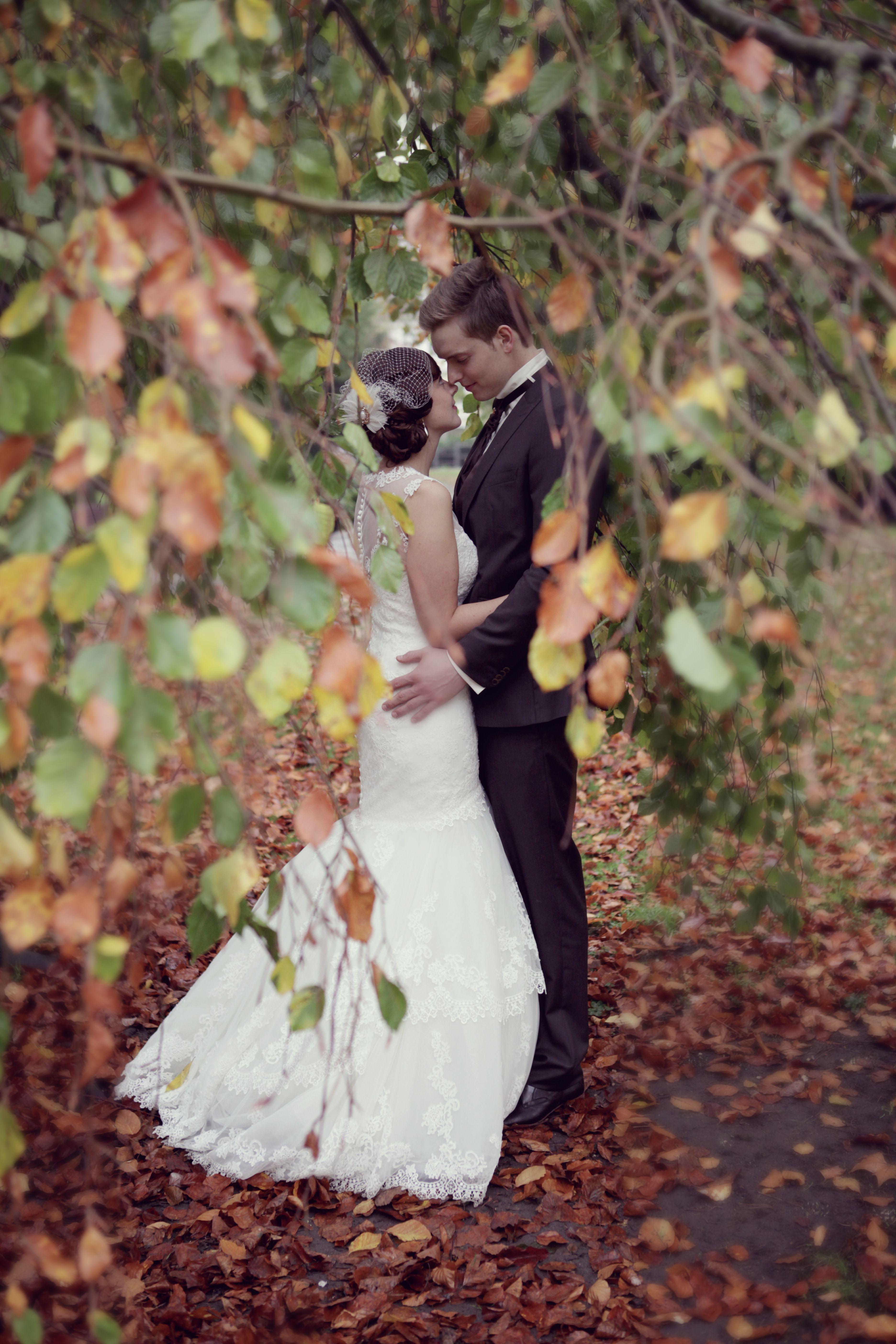 Heiraten an einem Herbsttag - wundervoll