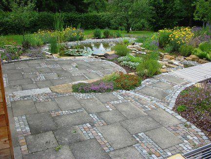 natursteinbel ge von greenteam gartengestaltung terrasse pinterest pflaster gartenweg und. Black Bedroom Furniture Sets. Home Design Ideas