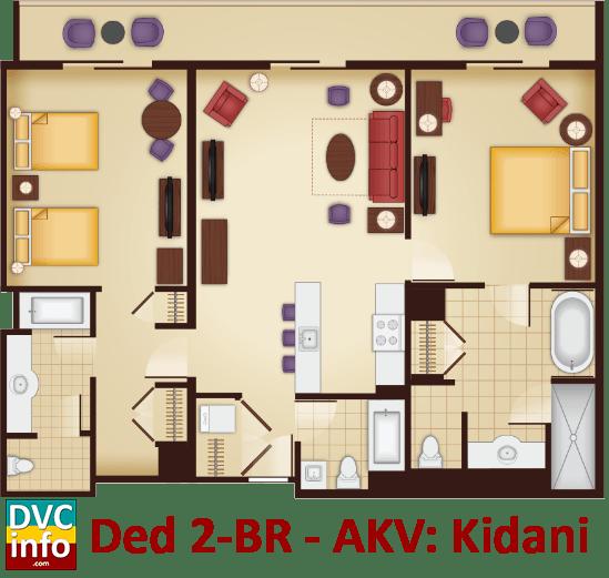 Dedicated 2 Bedroom Floor Plan Akv Kidani Village With Images Bedroom Flooring Bedroom Floor Plans Flooring
