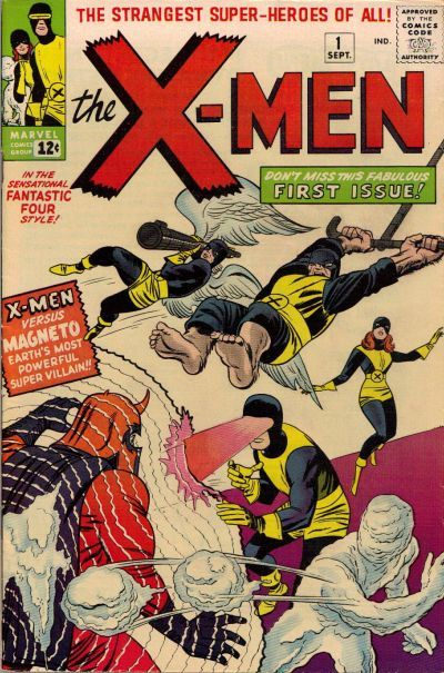 Gcd Cover The X Men 1 Marvel Comics Covers Comic Book Superheroes Superhero Comic