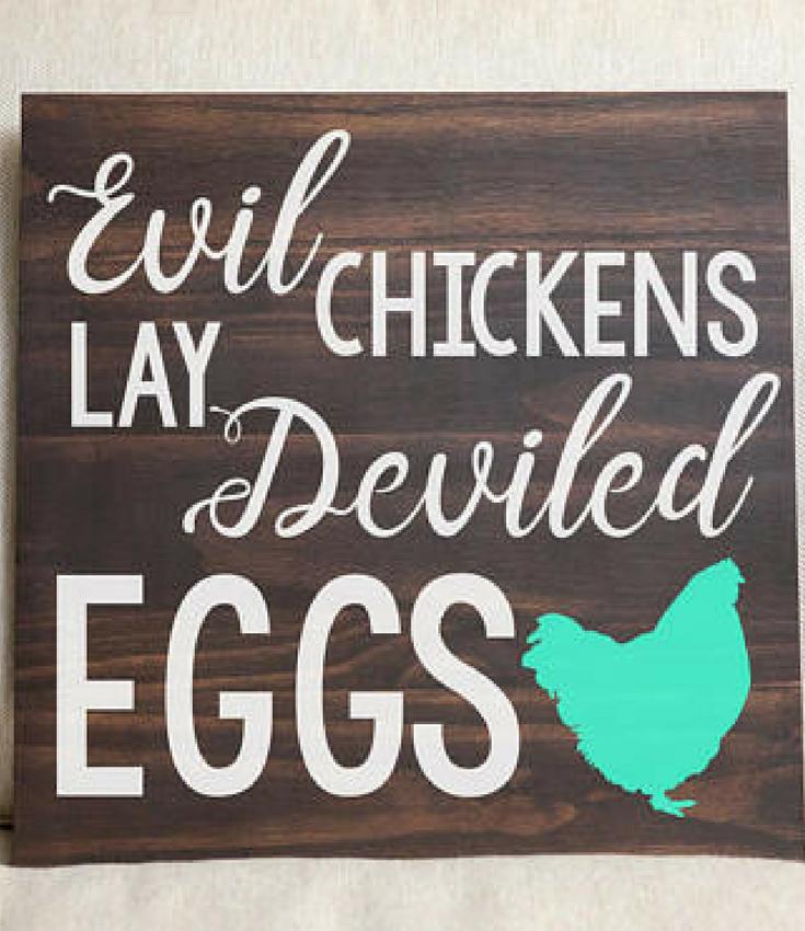Rustic Farmhouse Sign Defined Chicken Mom Chicken Mom Farmhouse Sign