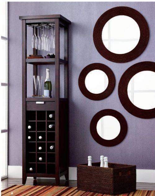 Cambiar el aspecto de la casa por poco dinero en 2019 hogar espejos redondos decoraci n de - Como cambiar de look en casa ...
