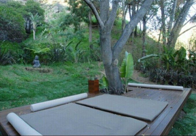 Meditation Platform Outdoors Simple Outdoor Yoga Yoga Garden