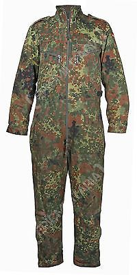a727c85afb0243 Original Flecktarn Tanker Overalls - German Army Surplus Camo Work  Coveralls | eBay