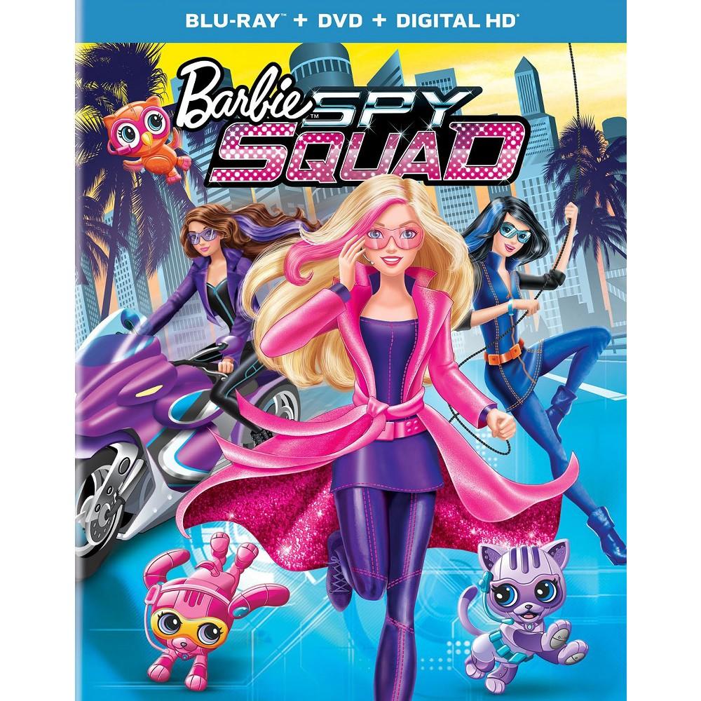 Barbie Spy Squad Includes Digital Copy Ultraviolet Blu Ray Dvd
