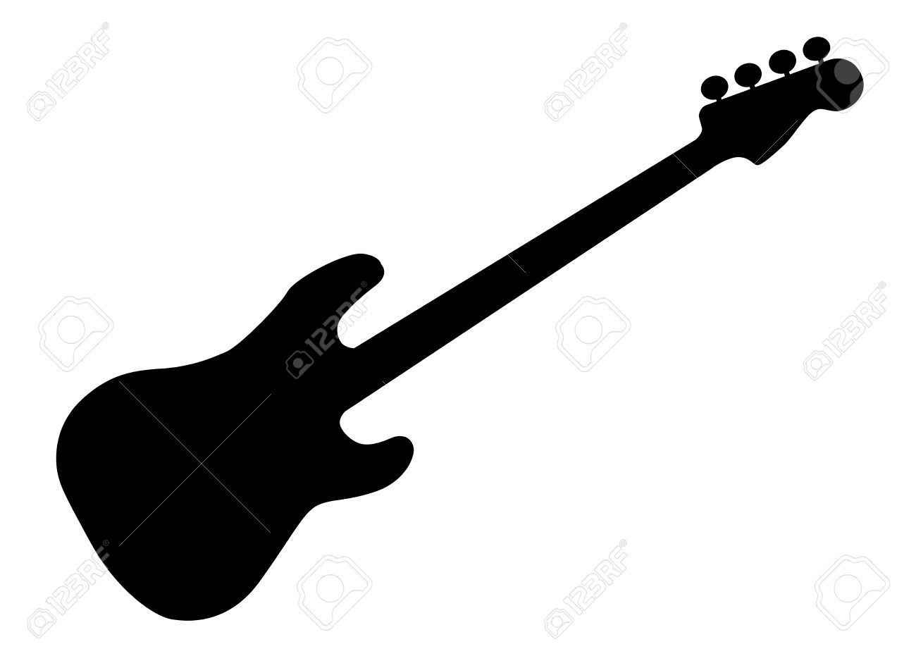 Image Result For Guitar Silhouette Png Silhouette Png Silhouette Art Inspiration
