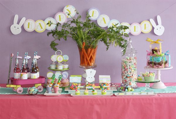Easter Party Table Ideas