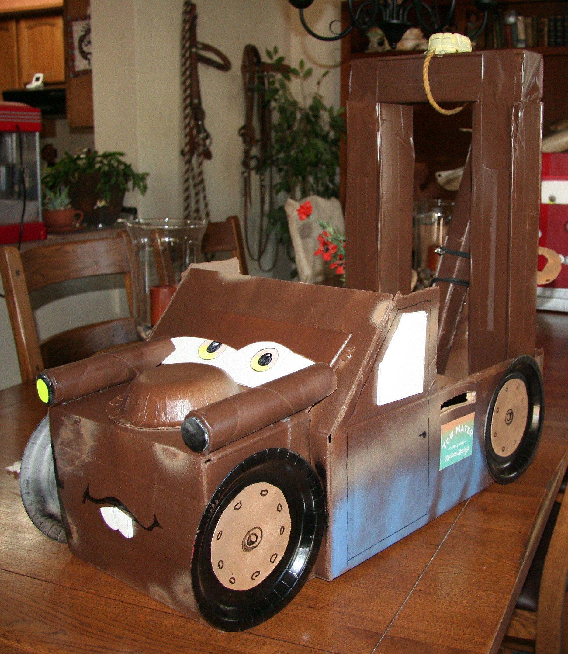 Tow Mater, Party, Towing