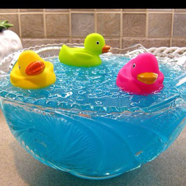 Ducky Bath Baby Shower Punch Recipe Baby Shower Ideas