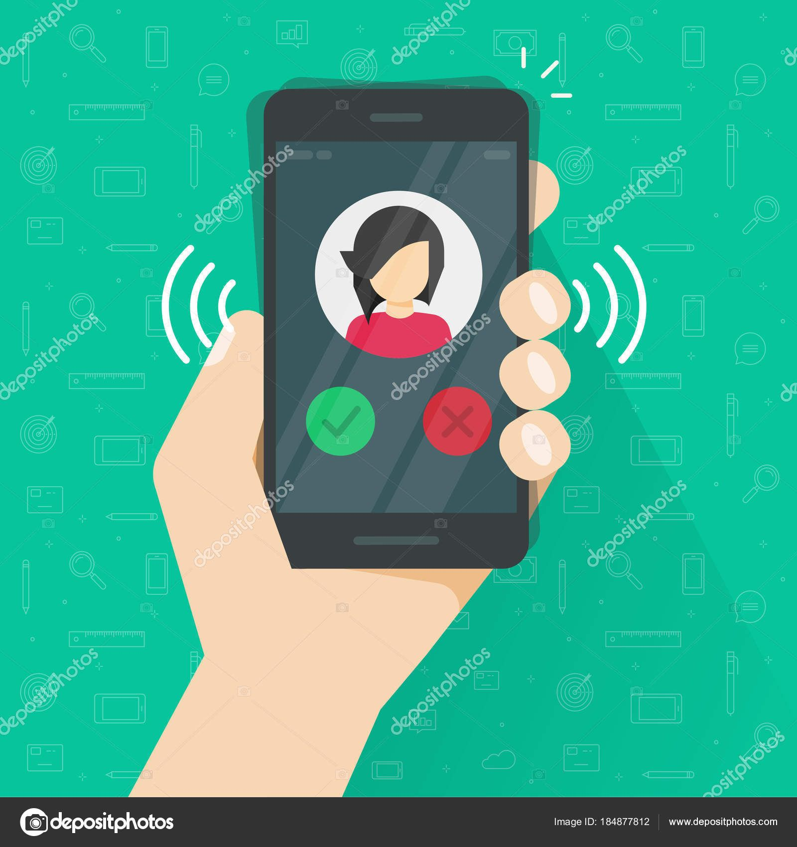 Download Smartphone or mobile phone ringing or calling