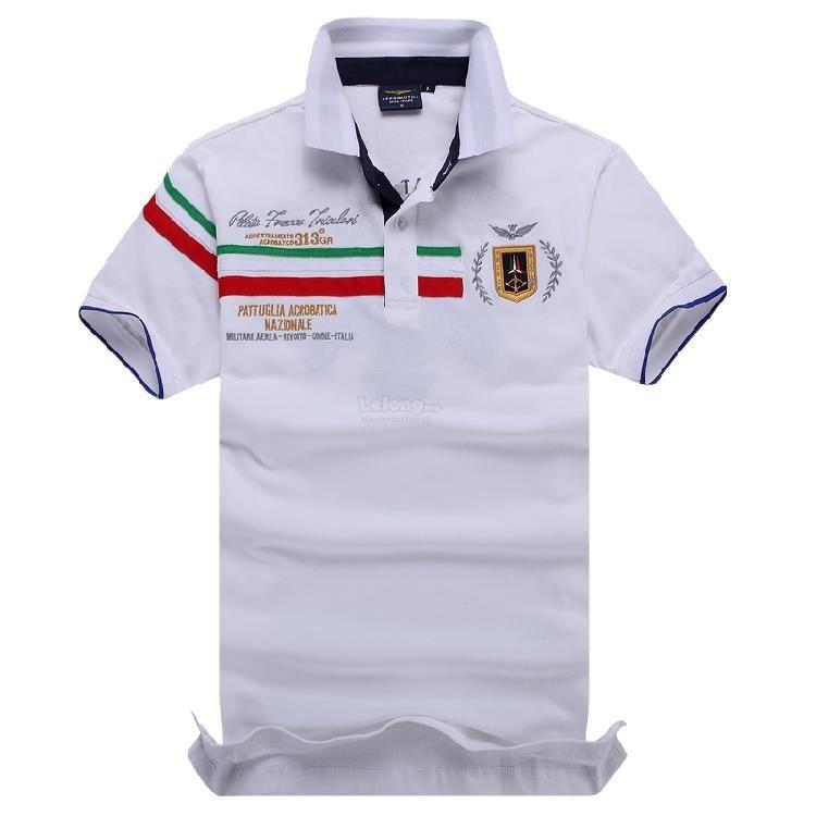 2d473cc24945 Aeronautica Militare Italian Summer POLO Men T-shirt