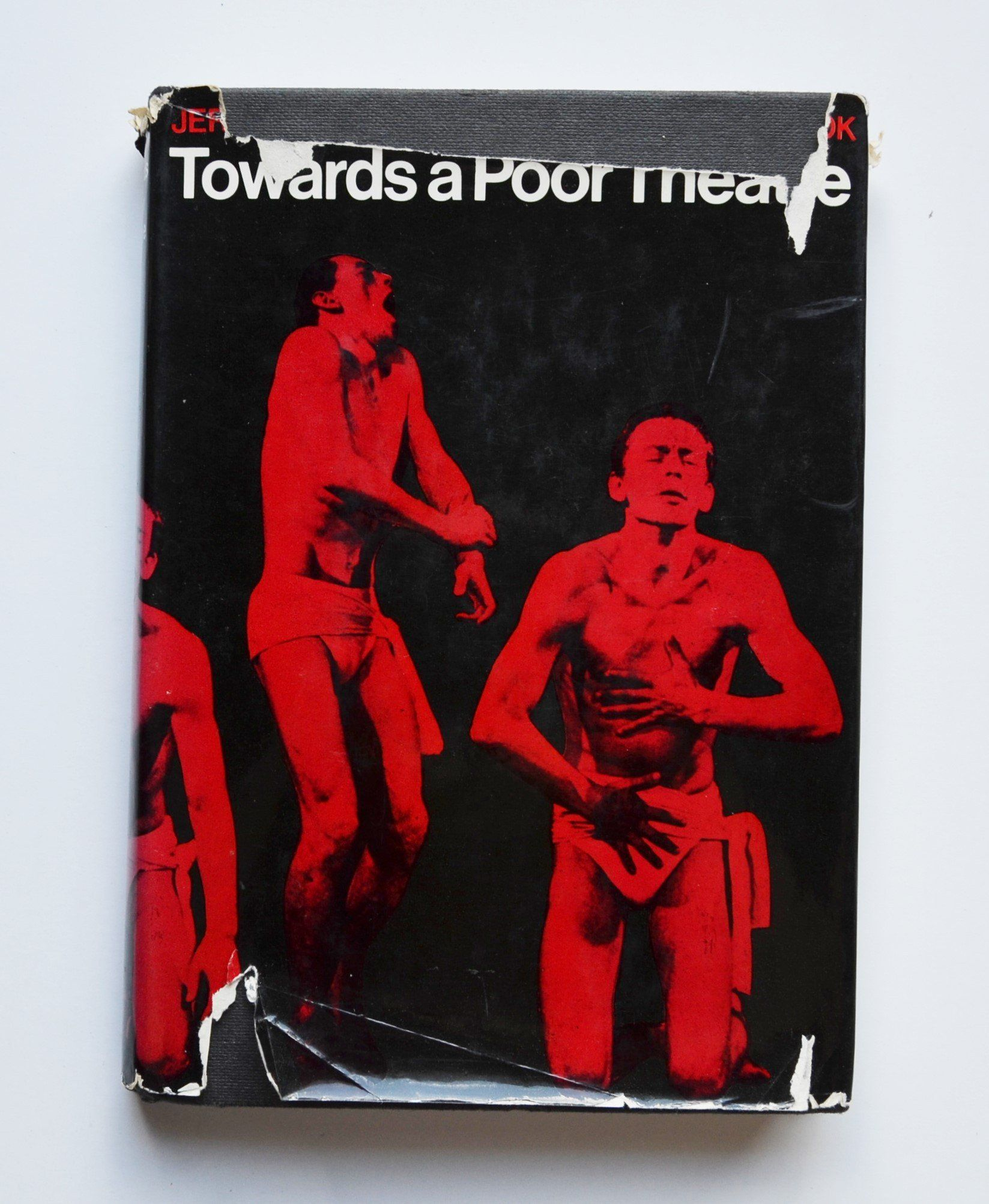 Towards A Poor Theatre By Jerzy Grotowski Edited Eugenio Barba With Preface Peter Brook