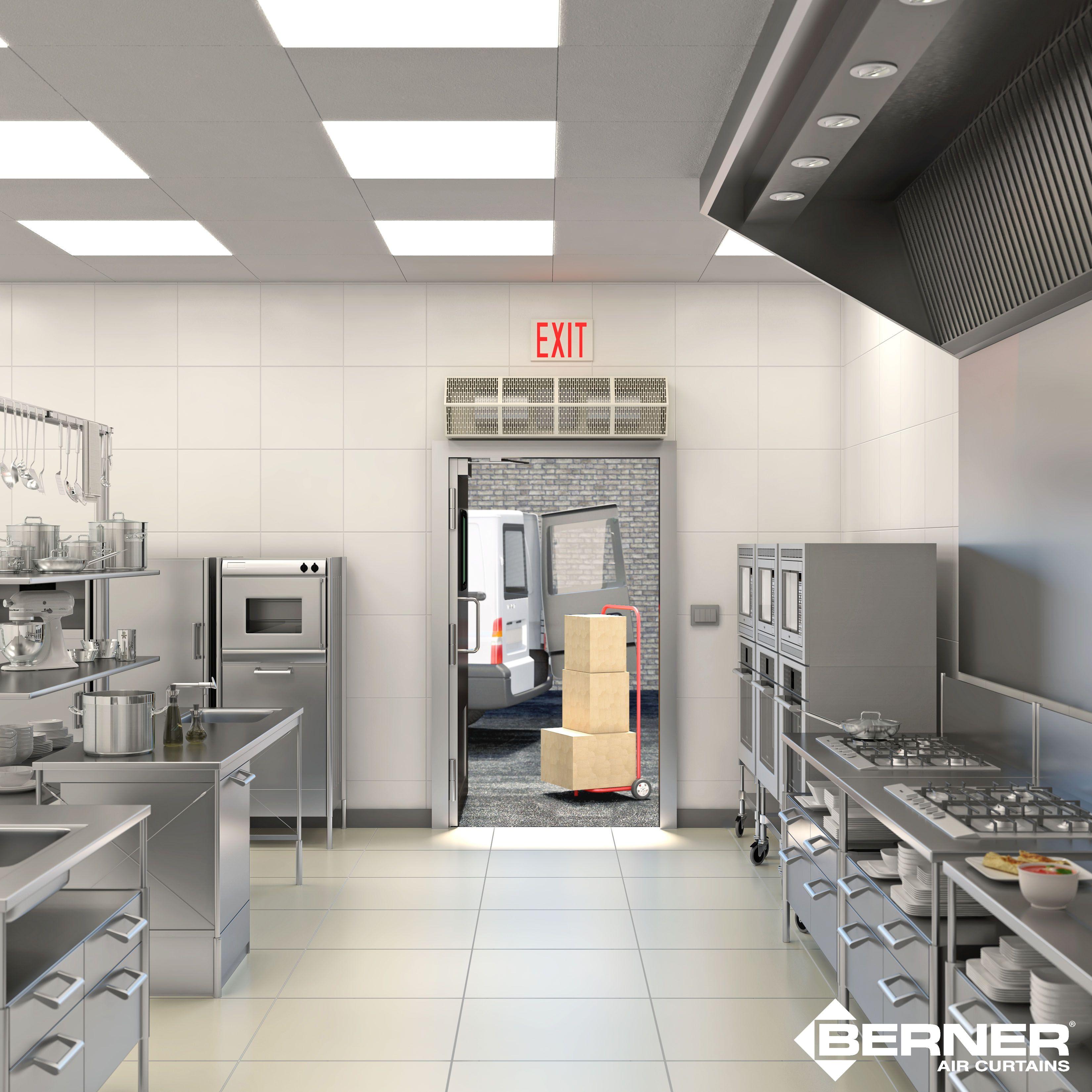 Keeping Health Inspectors Happy Service kitchen, Open