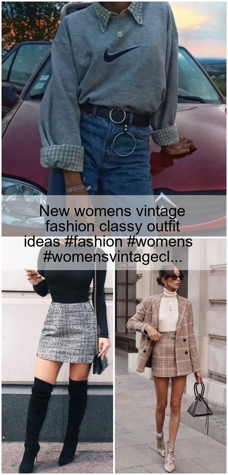 New womens vintage fashion classy outfit ideas