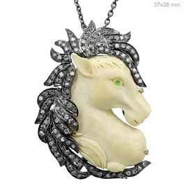 Diamond horse bone pendant jewelry jewelry pinterest diamond horse bone pendant jewelry aloadofball Choice Image