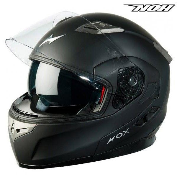 Casque Moto Nox N963 Noir Mat Propilote Equipement Moto Pinterest