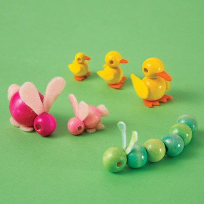 Spring Craft: Bead Babies | Crafts | Spoonful