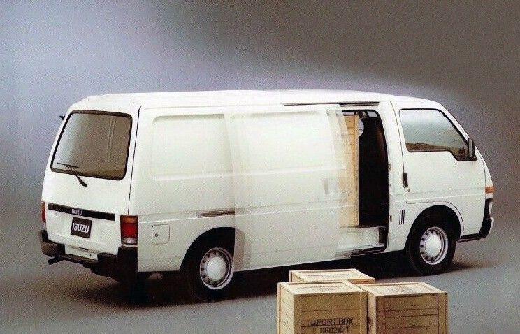 Isuzu Midi Panel Van' 198095 in 2020 Van, Vehicles, Japan