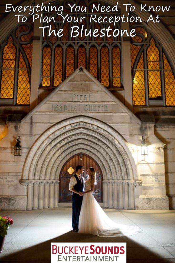 Columbus wedding venue information for The Bluestone. A